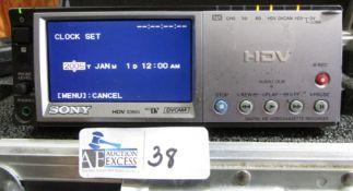 SONY HVR-M10U HDV 1080I DV CAM