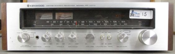 VINTAGE KENWOOD KR-4070 RECEIVER