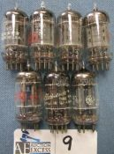 LOT OF 7 5963 GE FIVE STAR TUBES