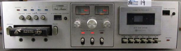 VINTAGE FISHER ER-8150 8 TRACK/CASSETTE DECK PLAYER RECORDER