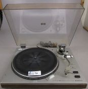 VINTAGE SANYO TURNTABLE TP-101 WITH SHURE M44-7 CARTRIDGE AND STYLUS