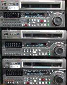 LOT OF 3 SONY DVRS