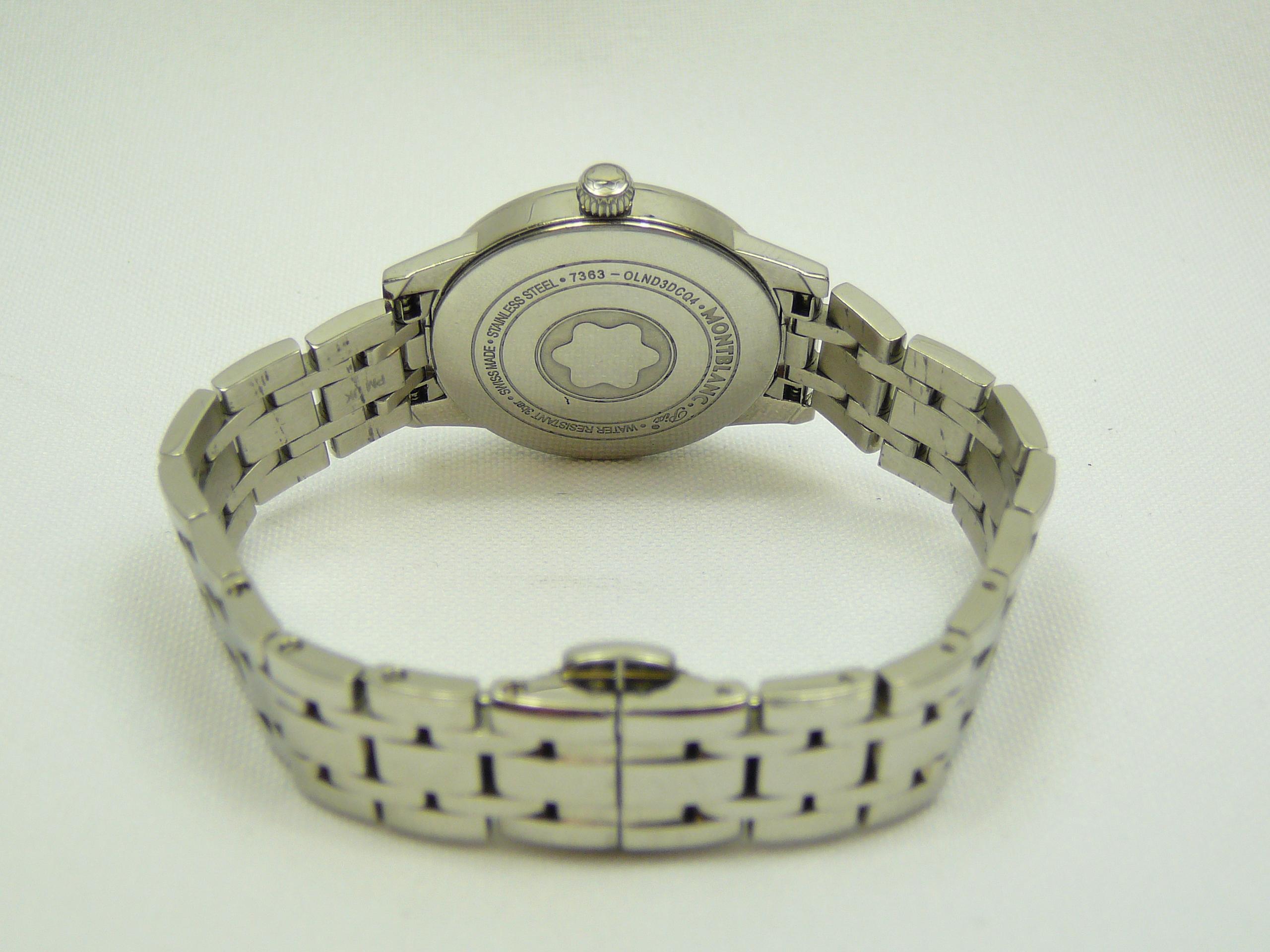 Ladies Montblanc Wrist Watch - Image 3 of 3