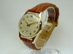 Gents Gold Garrard Wrist Watch