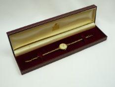 Ladies Vintage Gold Garrard Wrist watch