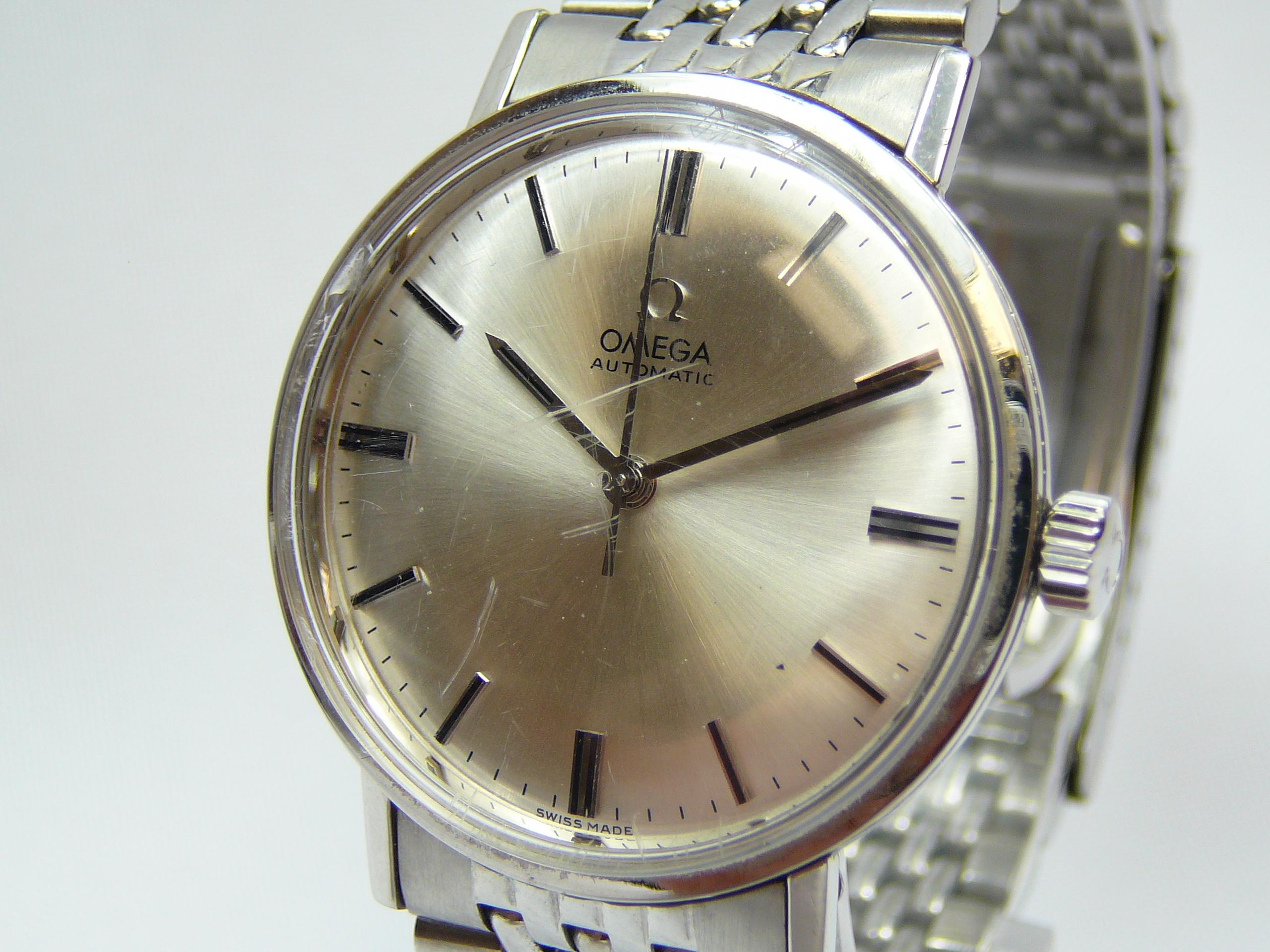 Gents Vintage Omega Wrist Watch - Image 2 of 4