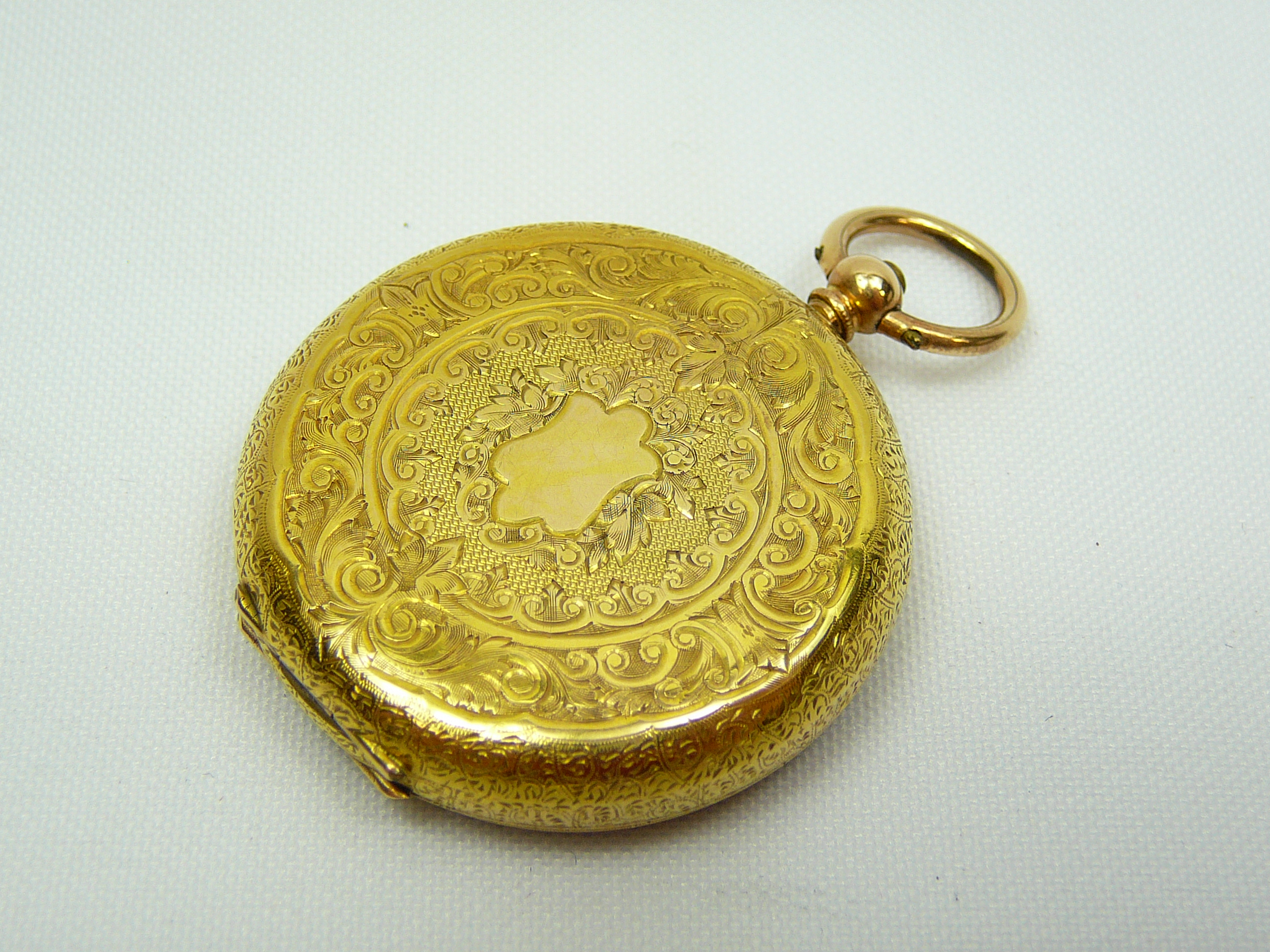 Ladies Antique Gold Fob Watch - Image 2 of 5