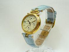 Ladies Jaeger LeCoultre Gold Wrist Watch