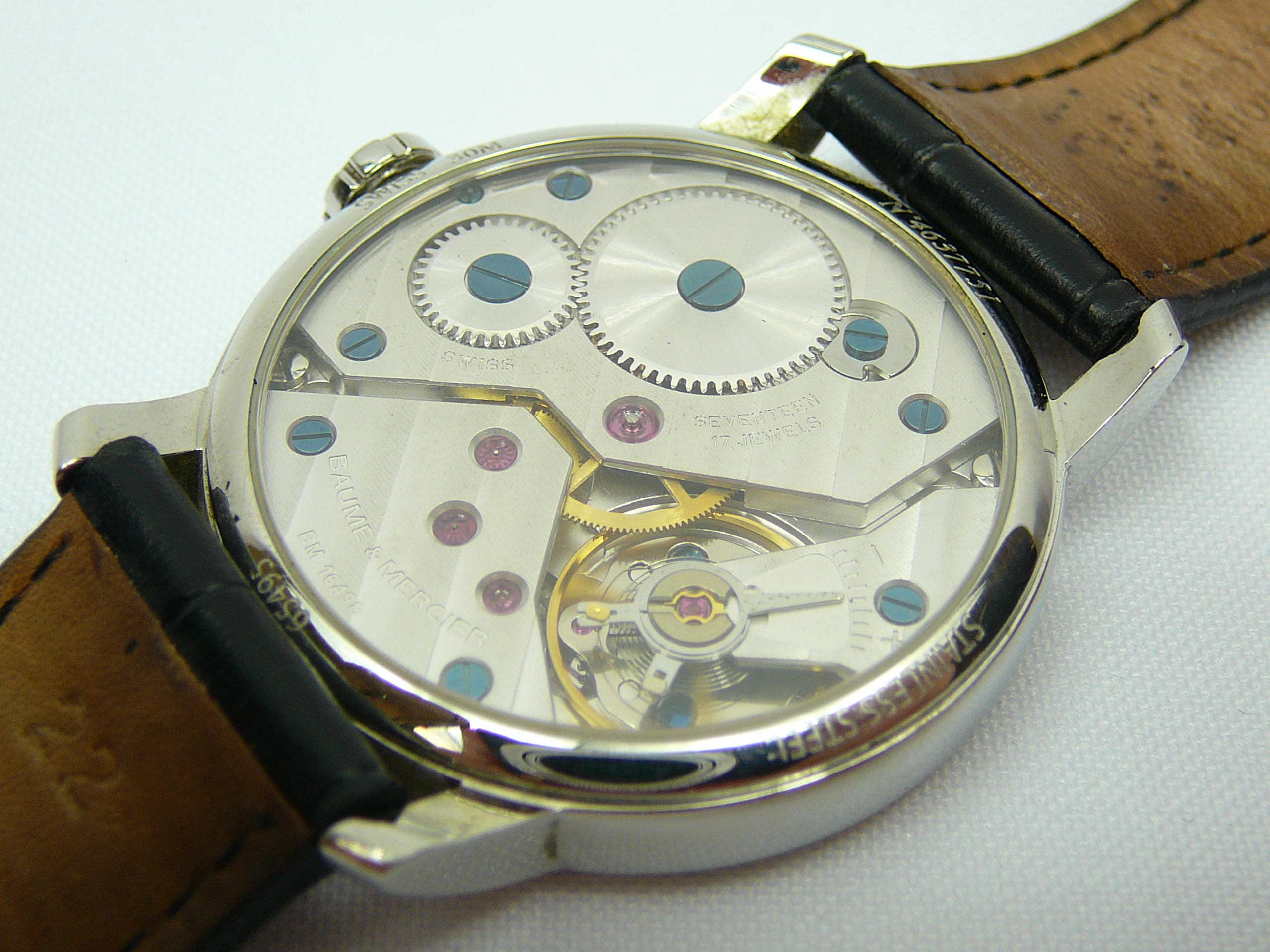 Gents Baume and Mercier Wrist Watch - Image 3 of 4