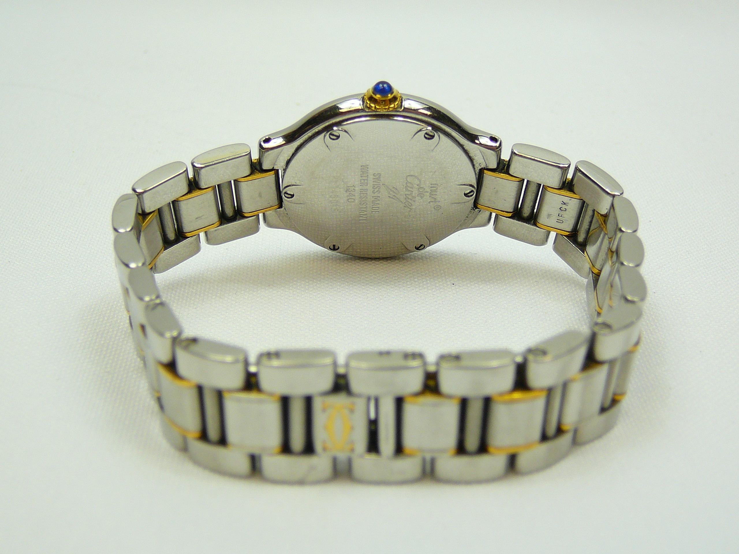 Ladies Cartier Wrist Watch - Image 3 of 3