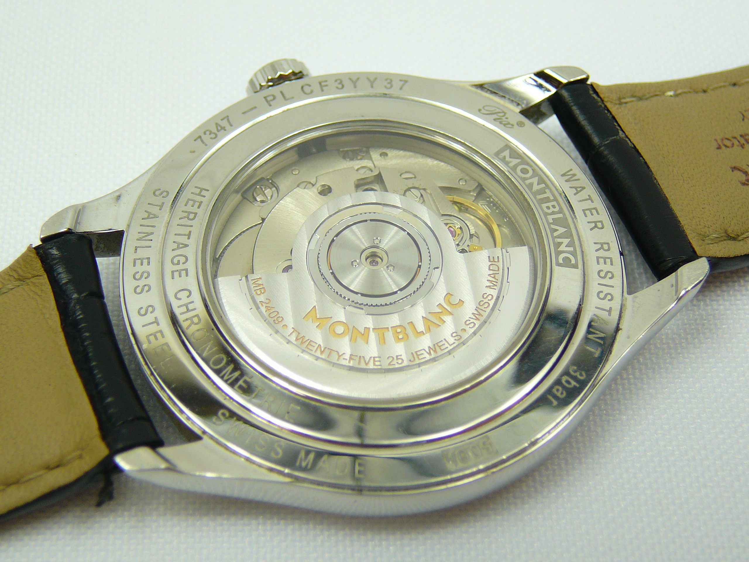 Gents Montblanc Wrist Watch - Image 3 of 3