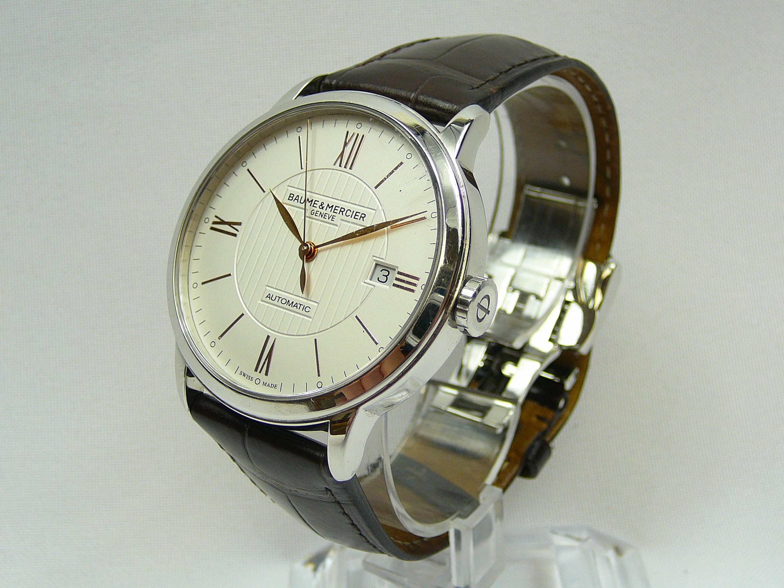 Gents Baume & Mercier Wrist Watch