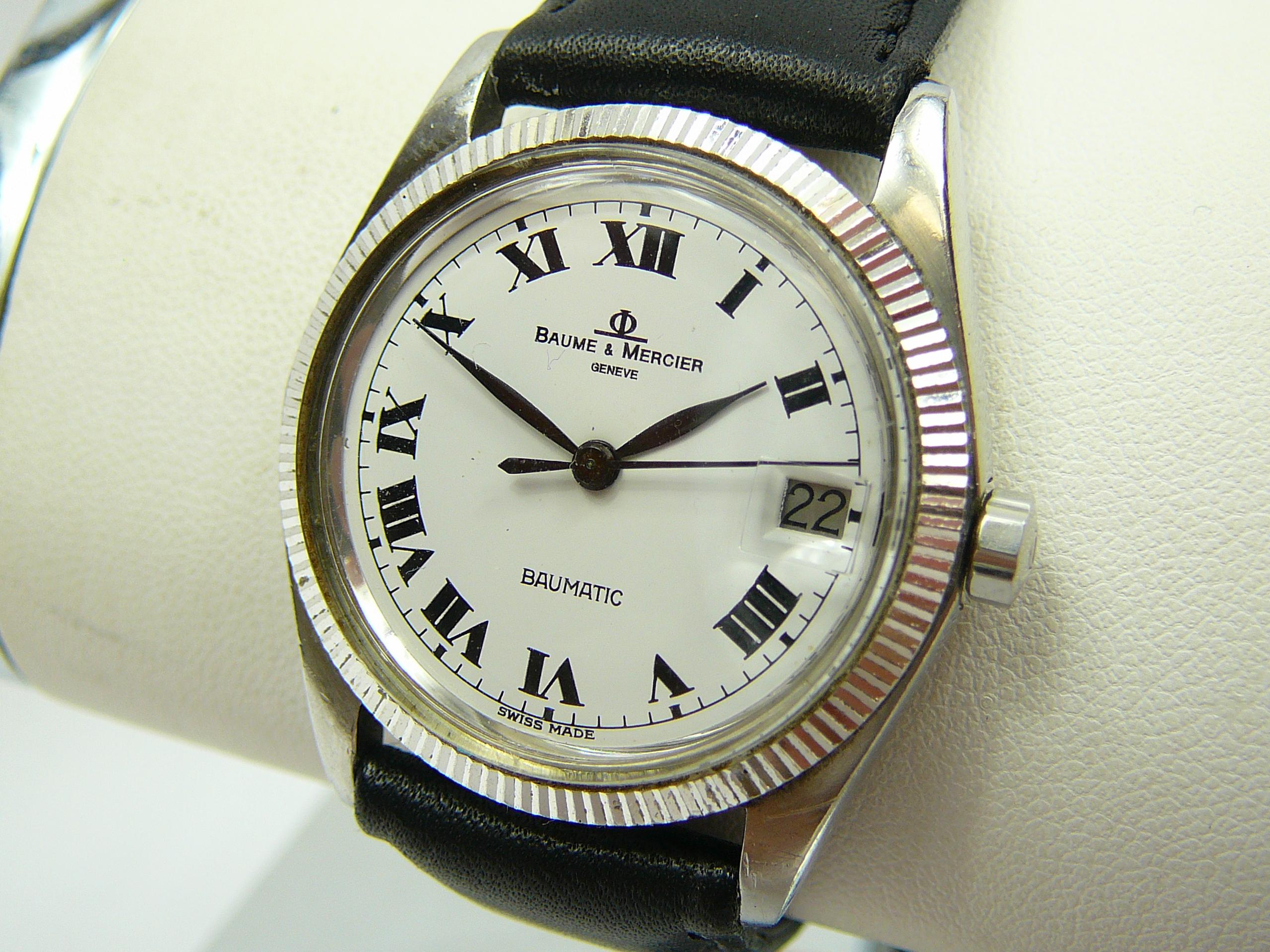 Mid Size Baume & Mercier Wrist Watch - Image 2 of 4