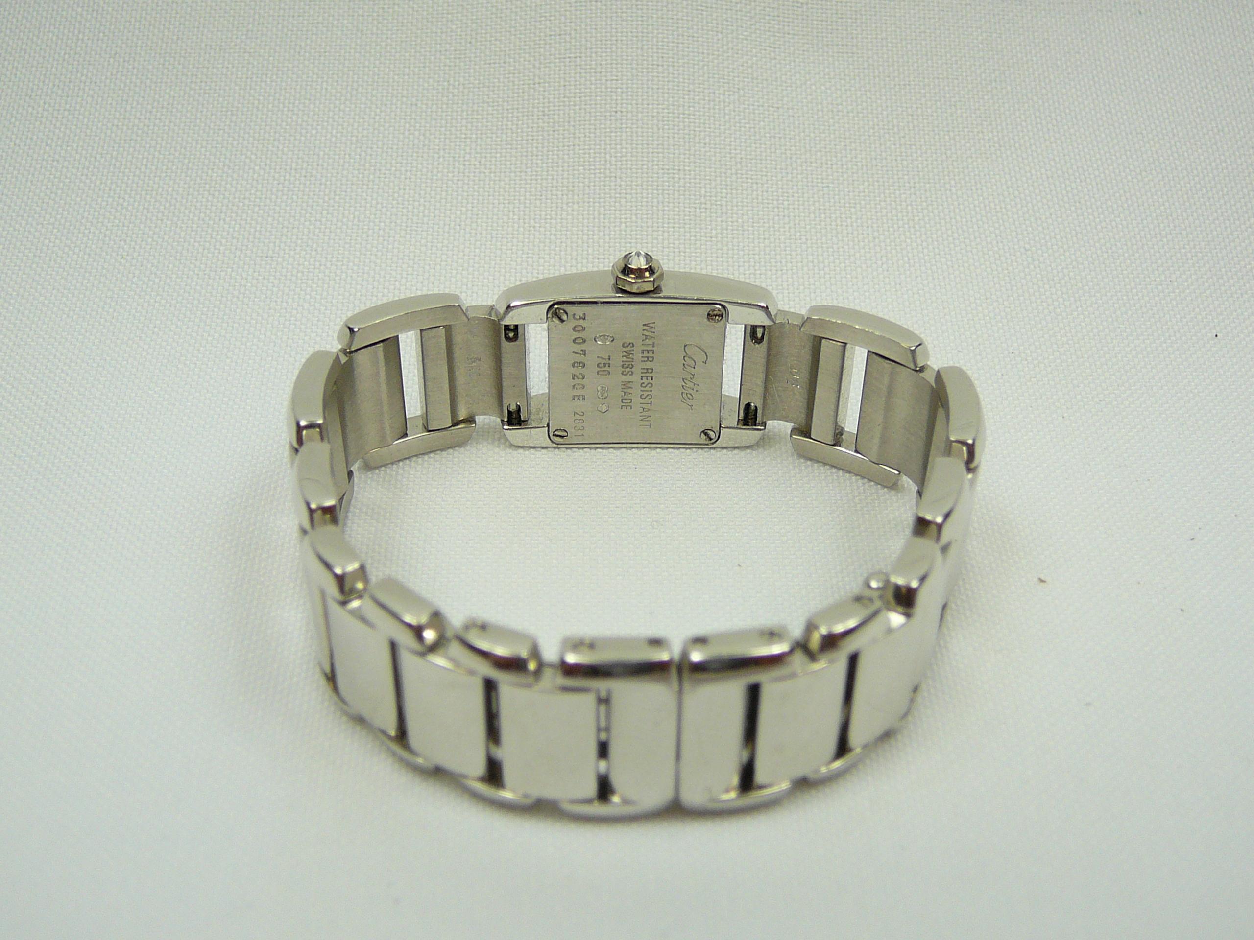 Ladies Gold Cartier Wrist Watch - Image 5 of 5