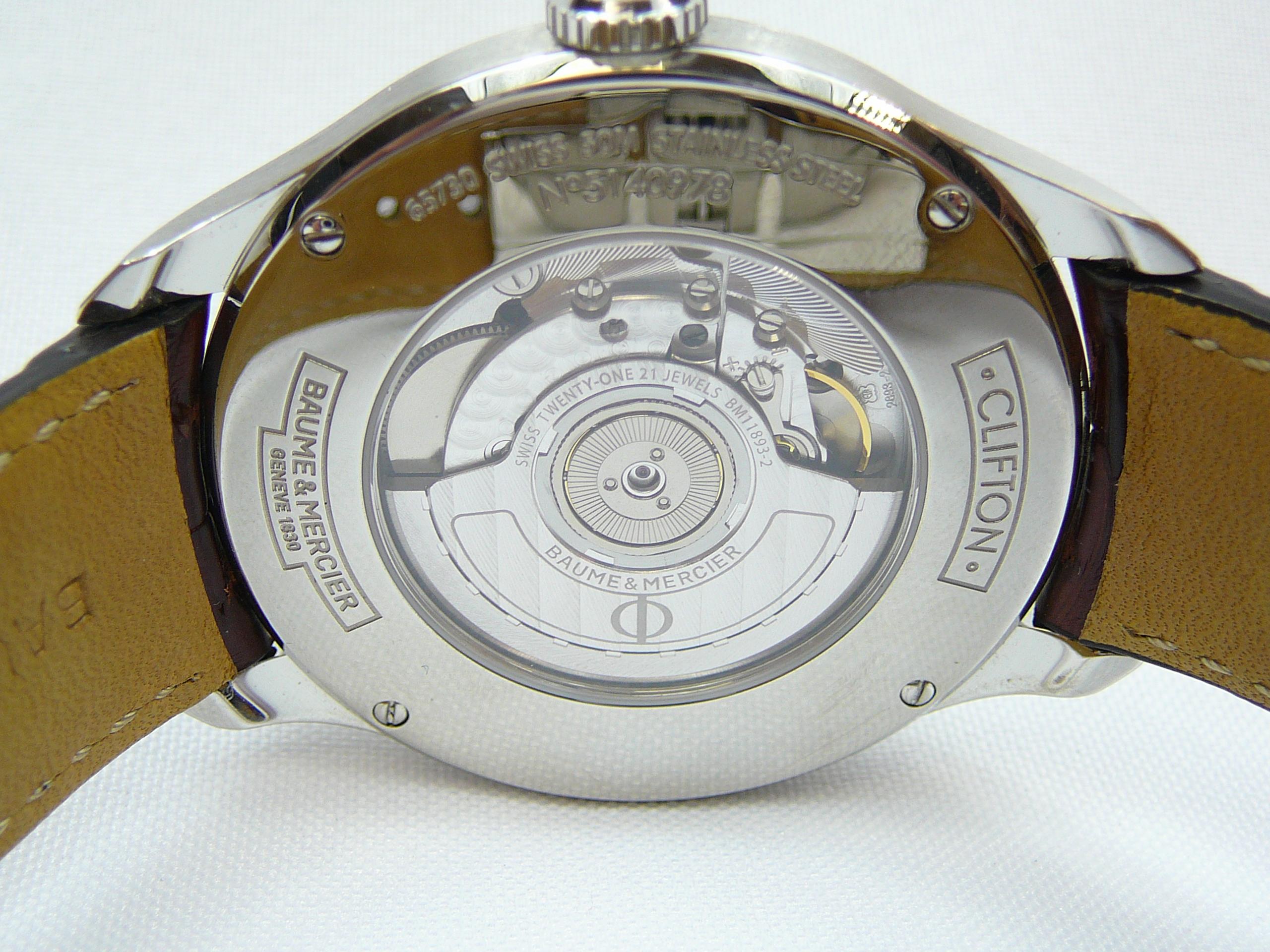 Gents Baume & Mercier Wrist Watch - Image 4 of 4