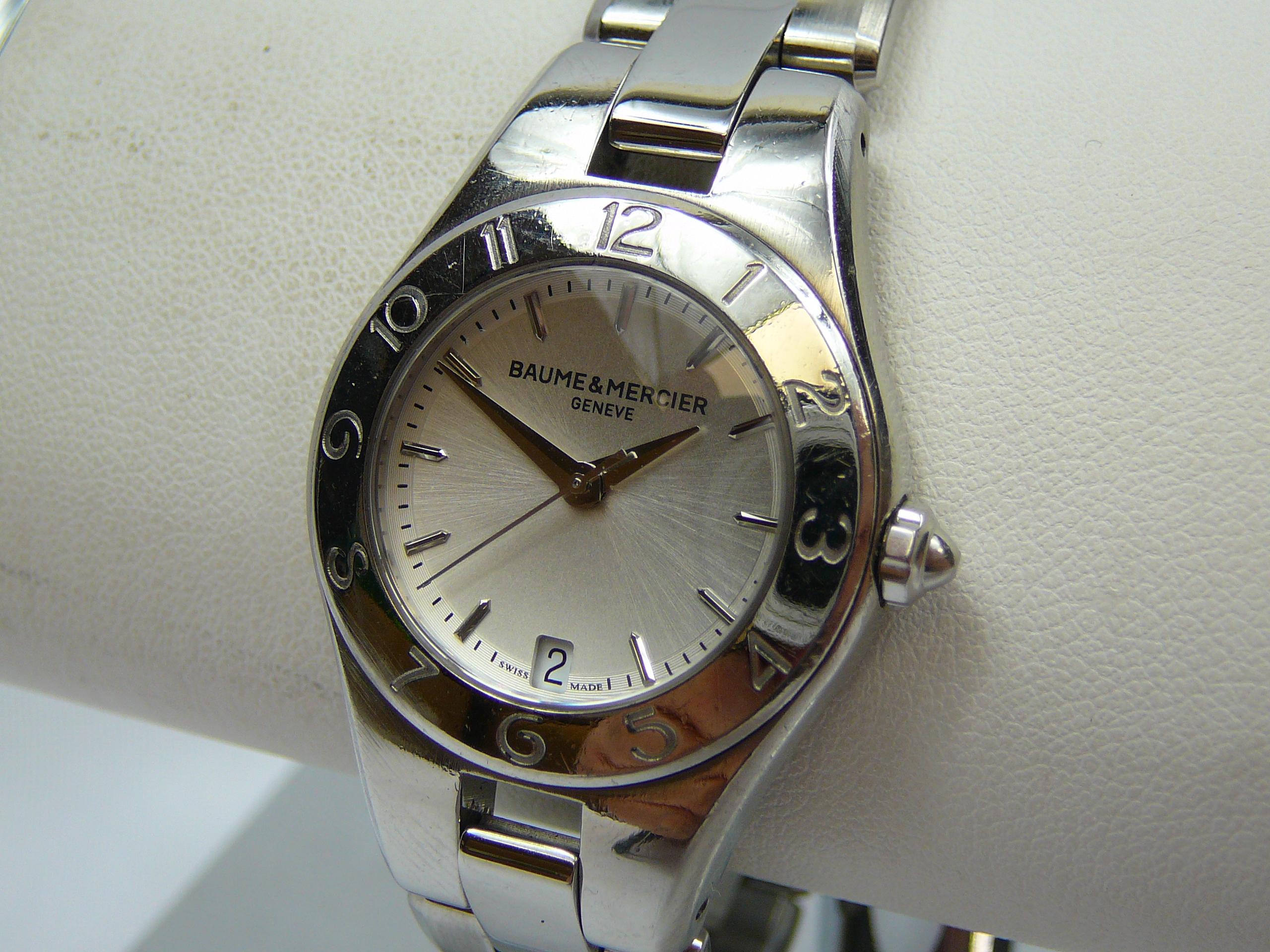 Ladies Baume & Mercier Wrist Watch - Image 2 of 3