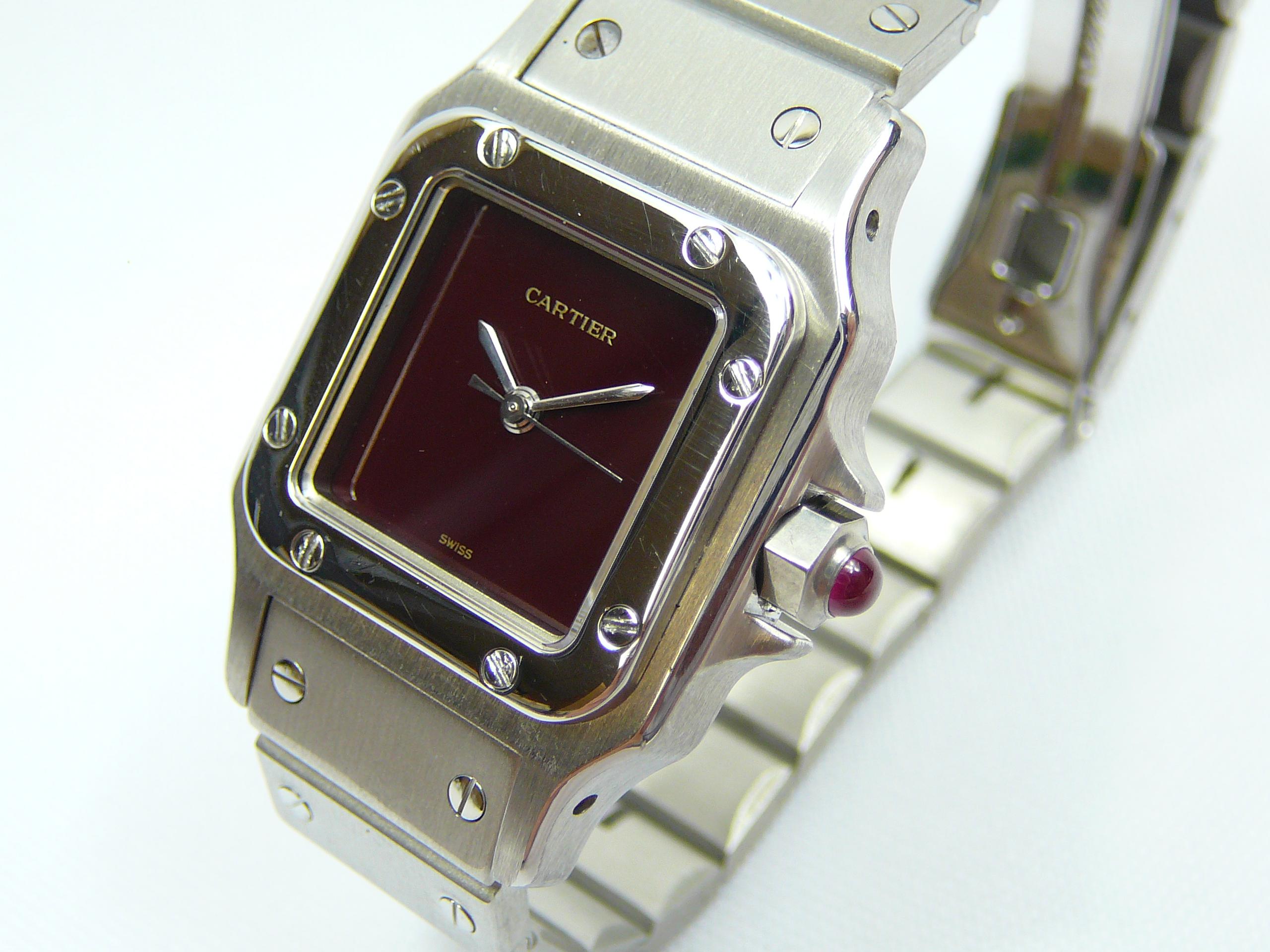 Ladies Cartier Wrist Watch - Image 2 of 3
