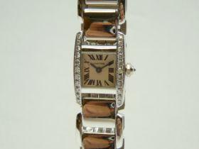 Ladies Gold Cartier Wrist Watch