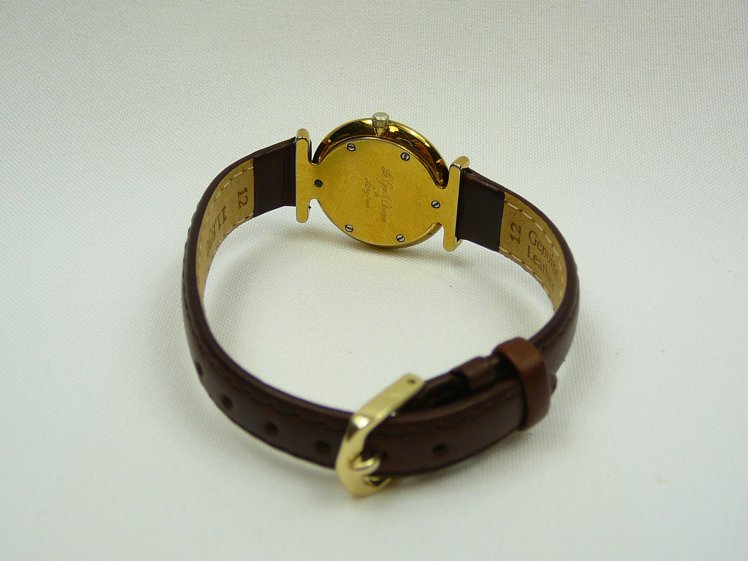 Ladies Longines Wrist Watch - Image 3 of 3