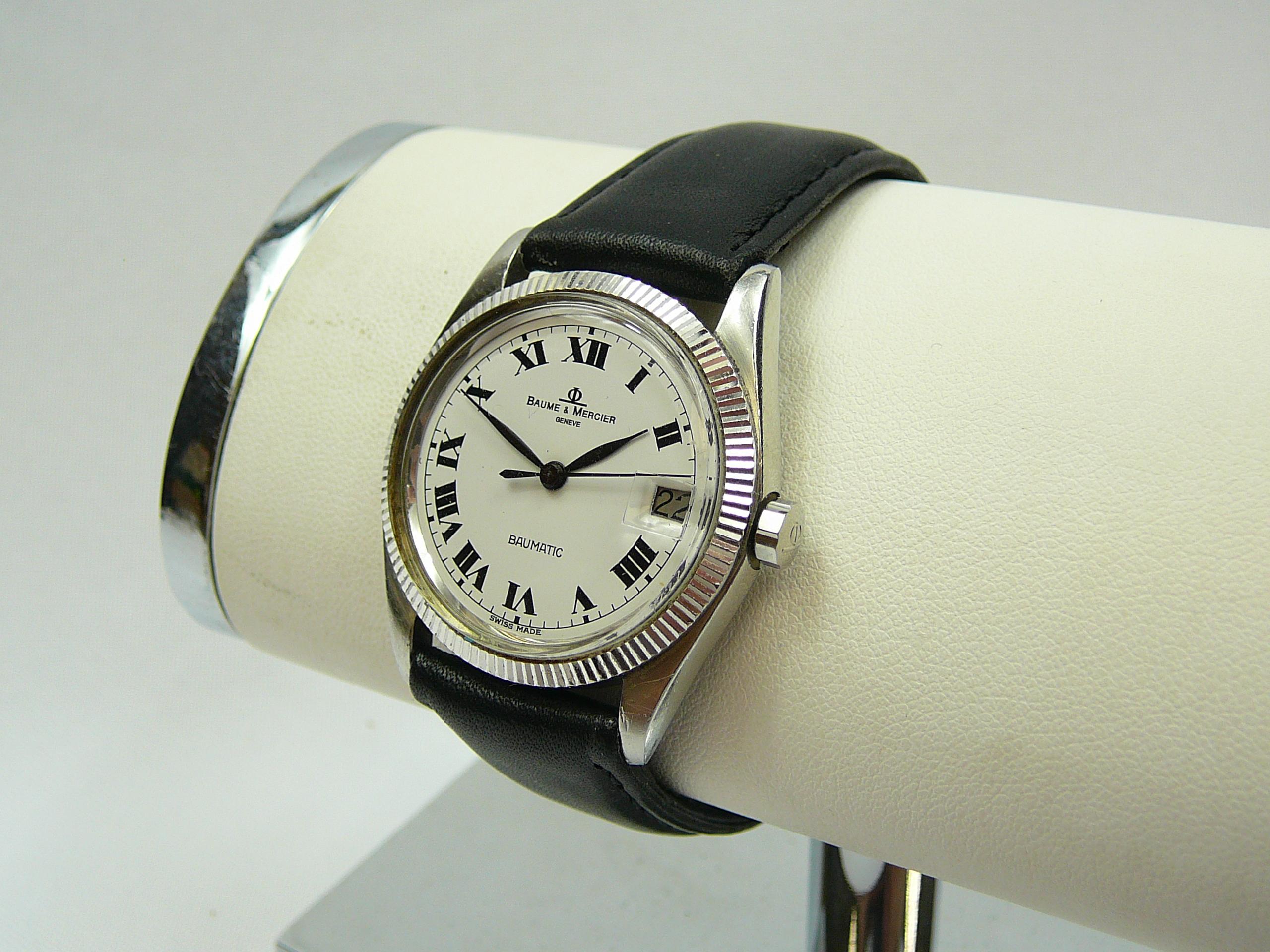 Mid Size Baume & Mercier Wrist Watch