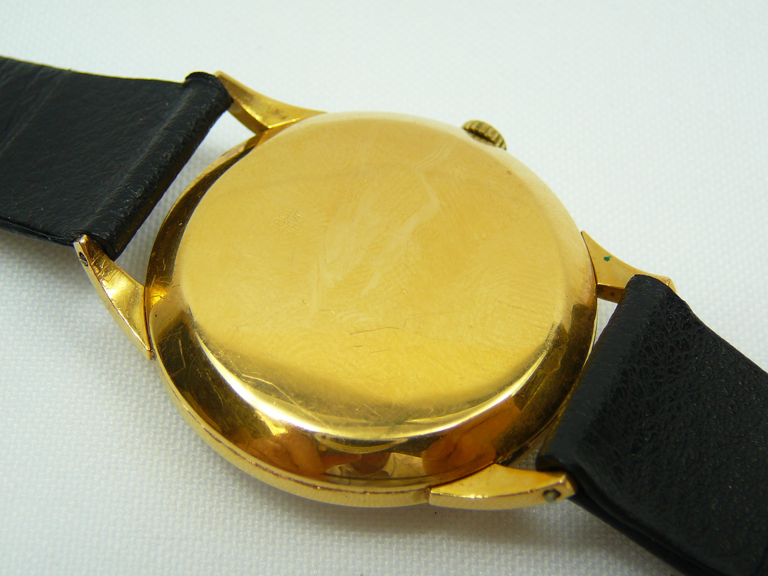 Gents Vintage Gold Longines Wrist Watch - Image 3 of 3