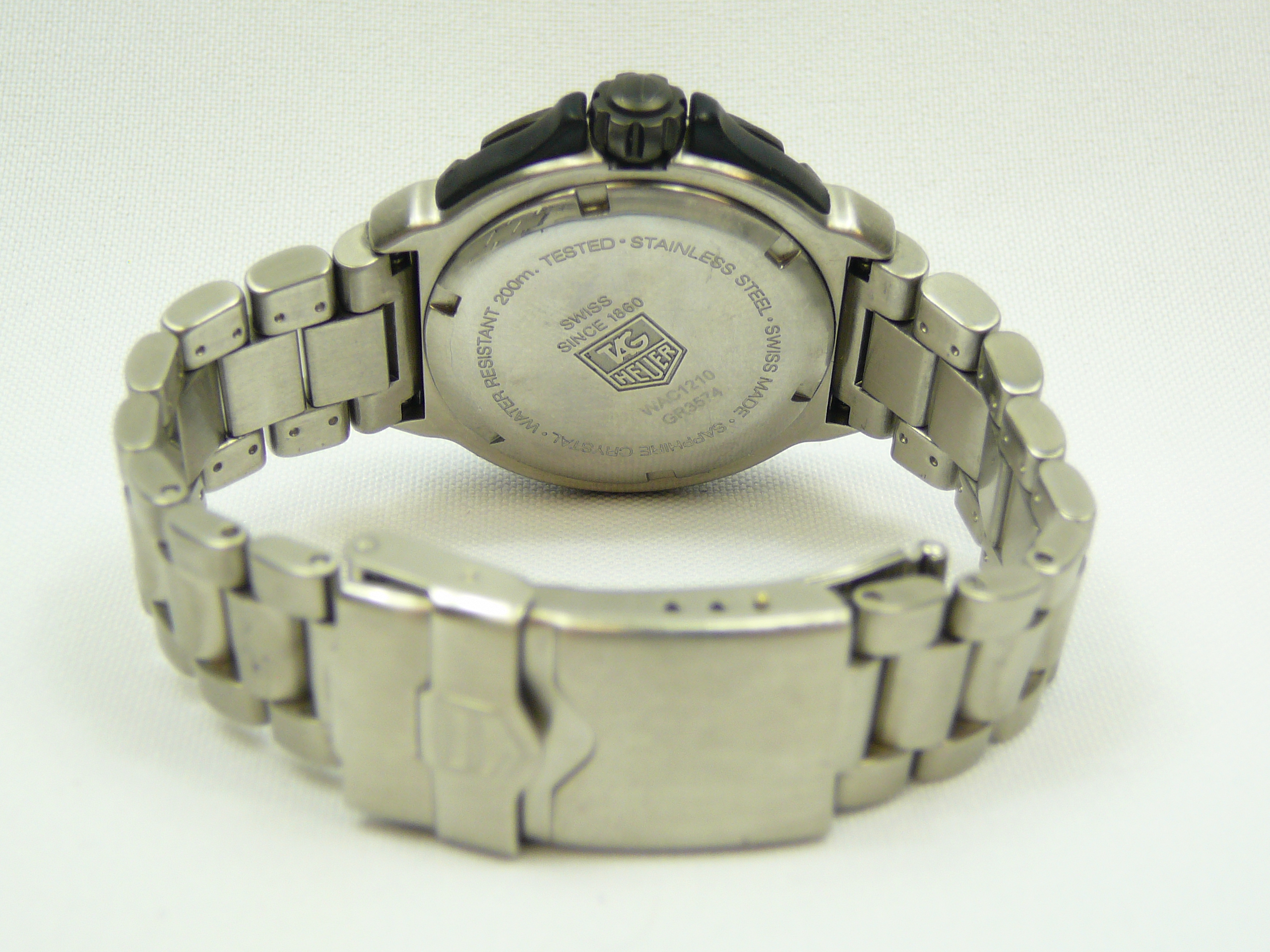 Mid Size Tag Heuer Wrist Watch - Image 3 of 3