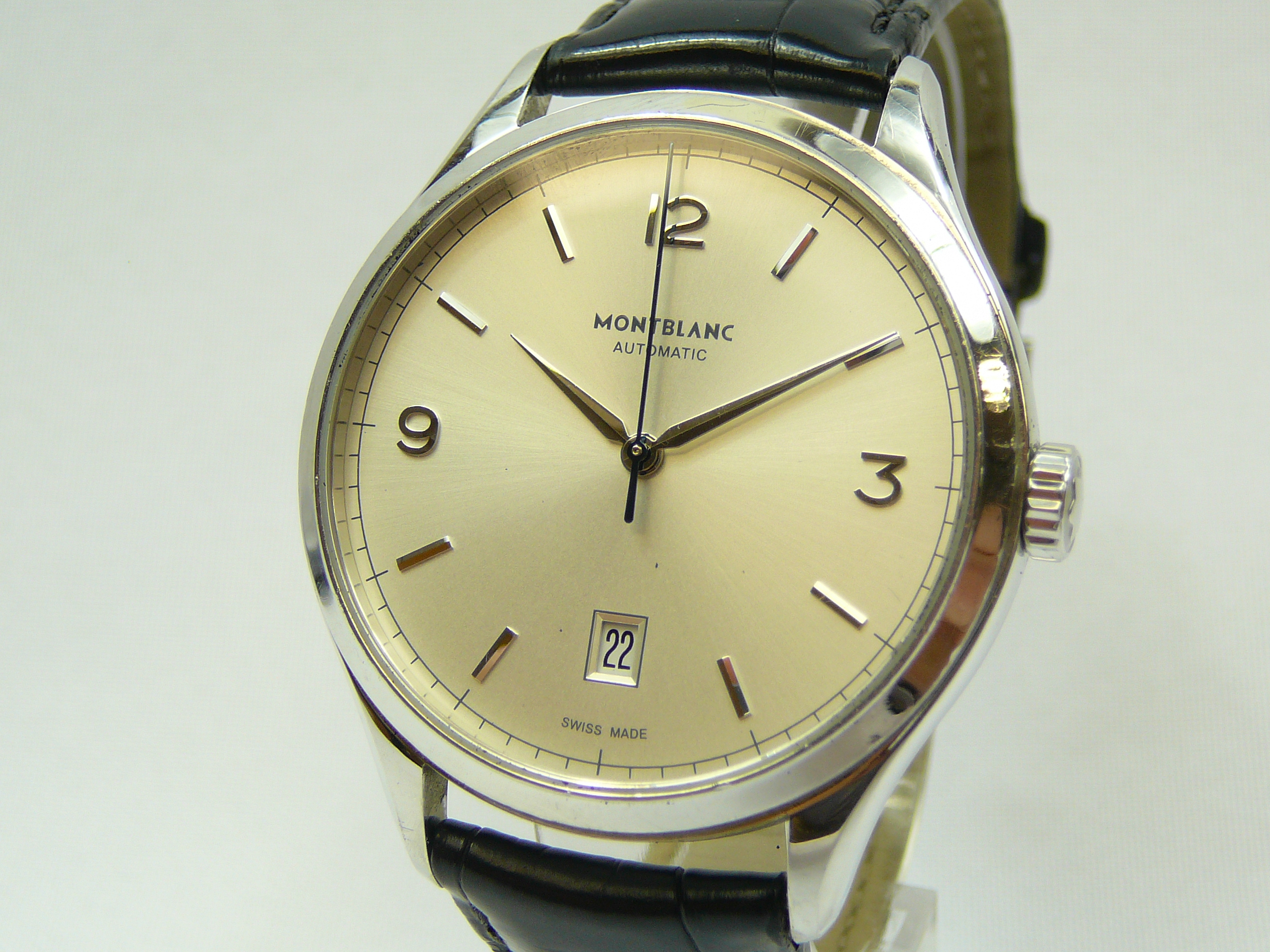 Gents Montblanc Wrist Watch - Image 2 of 3