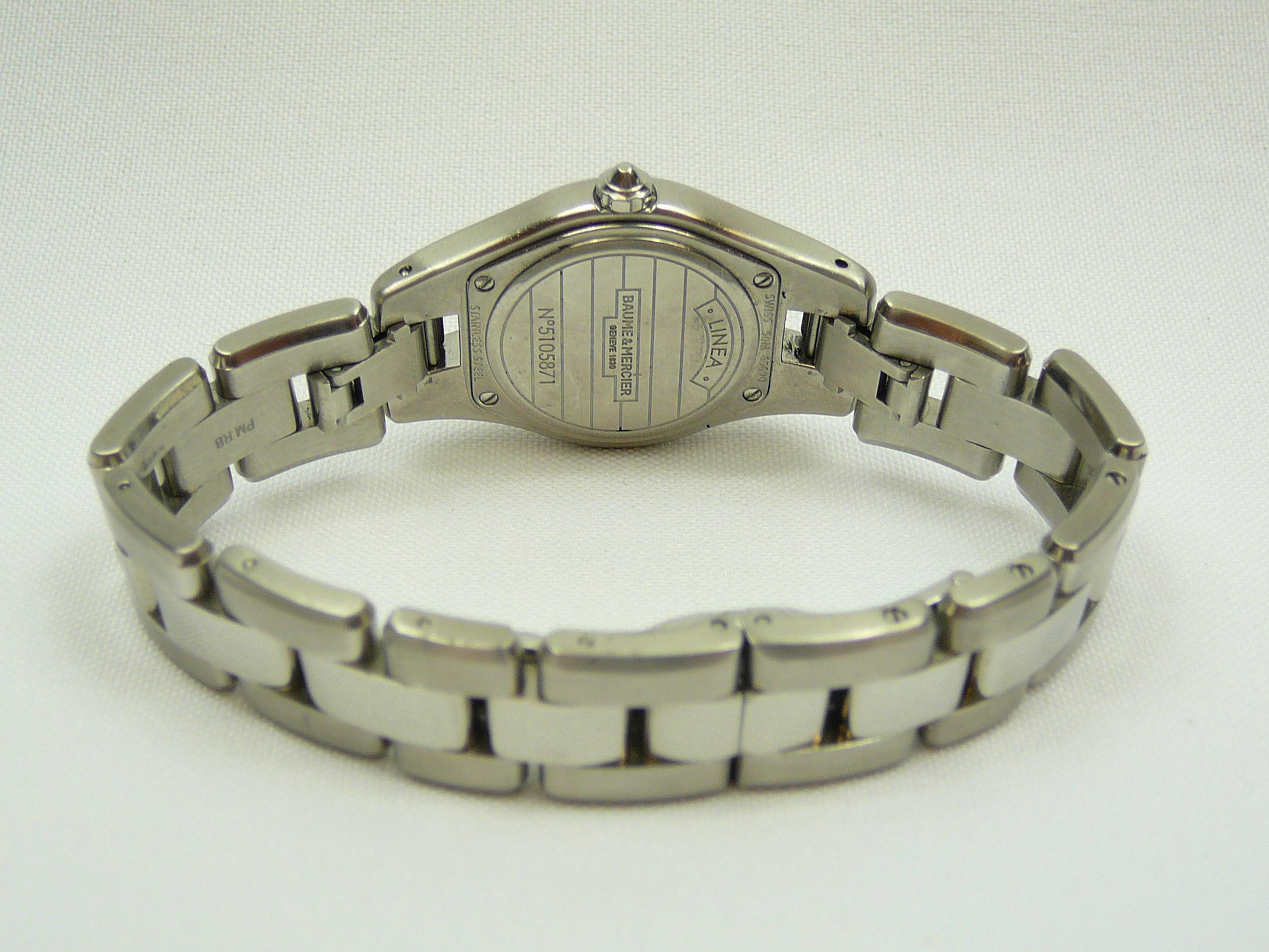 Ladies Baume & Mercier Wrist Watch - Image 3 of 3