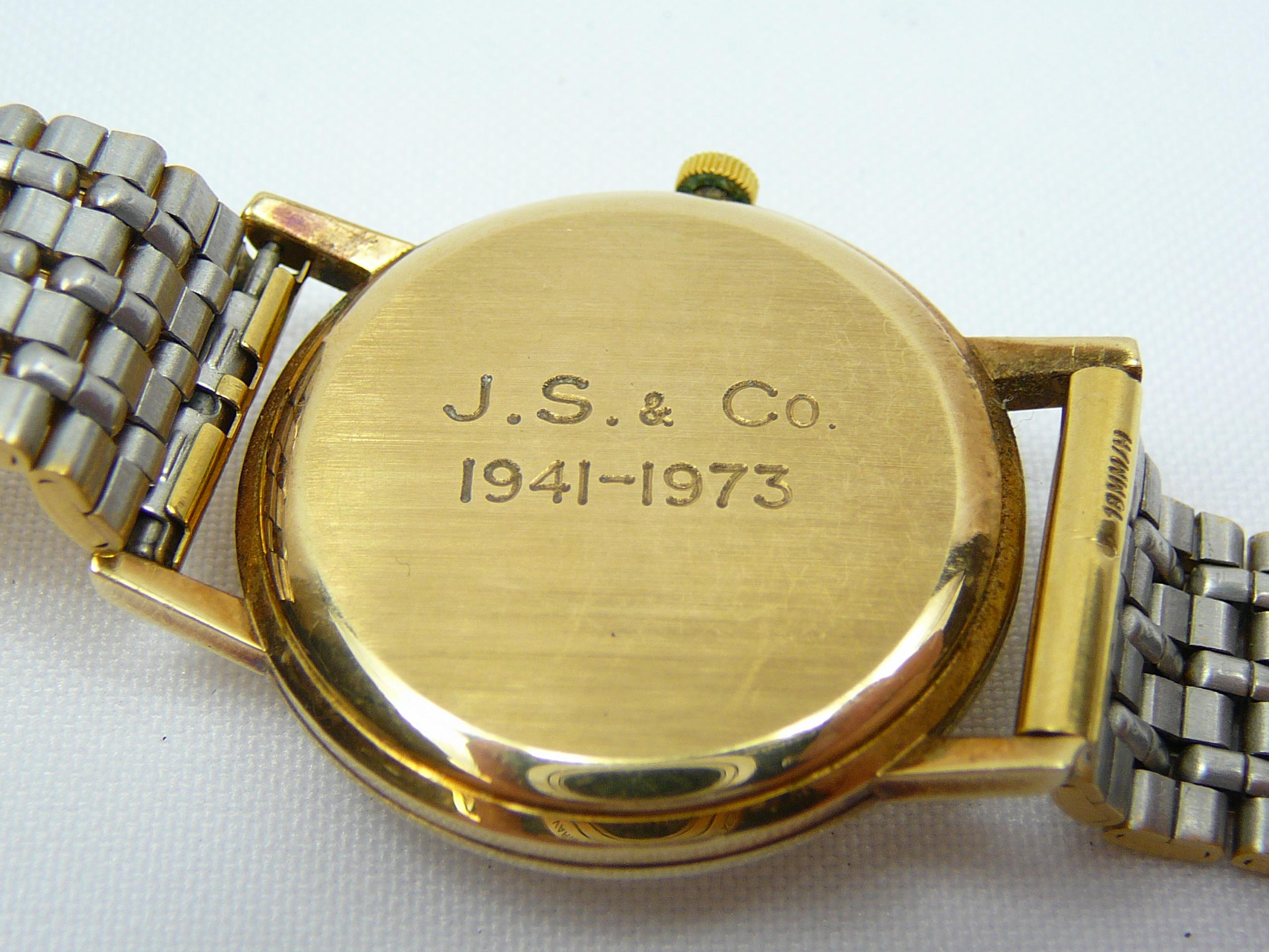 Gents Vintage Gold Longines Wrist Watch - Image 4 of 5