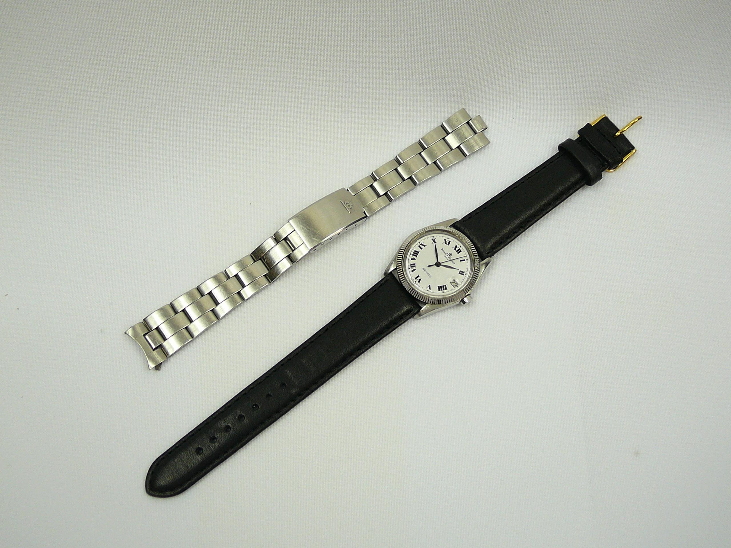 Mid Size Baume & Mercier Wrist Watch - Image 3 of 4