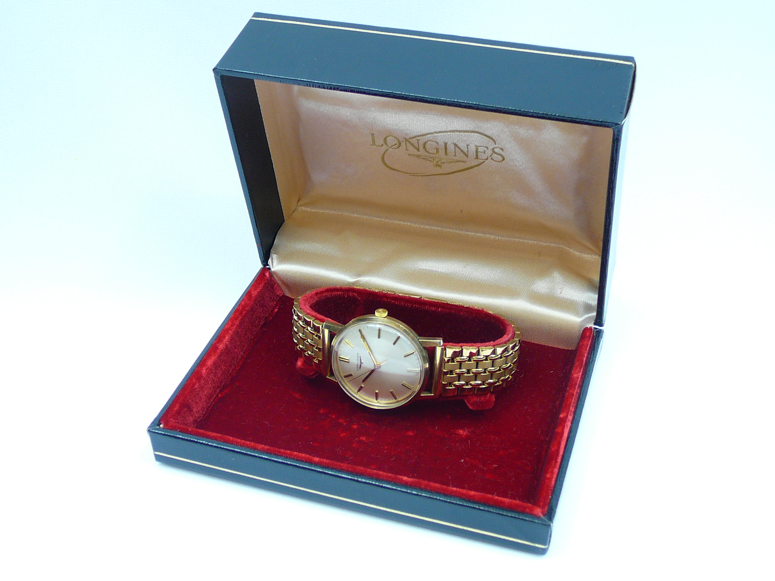 Gents Vintage Gold Longines Wrist Watch - Image 5 of 5