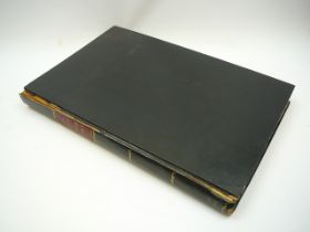 19th Century copy of Reflexions sur L'Etude Des Langues Asiatiques by A W De Schlegel