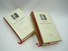 2 Volumes Oeuvres Completes Volumes 1 and 2 by Moliere