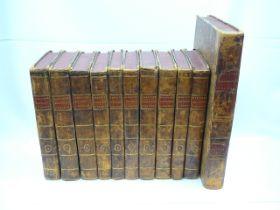 Set of 11 18th Century Histoire Philosophique et Politique by P Raynal