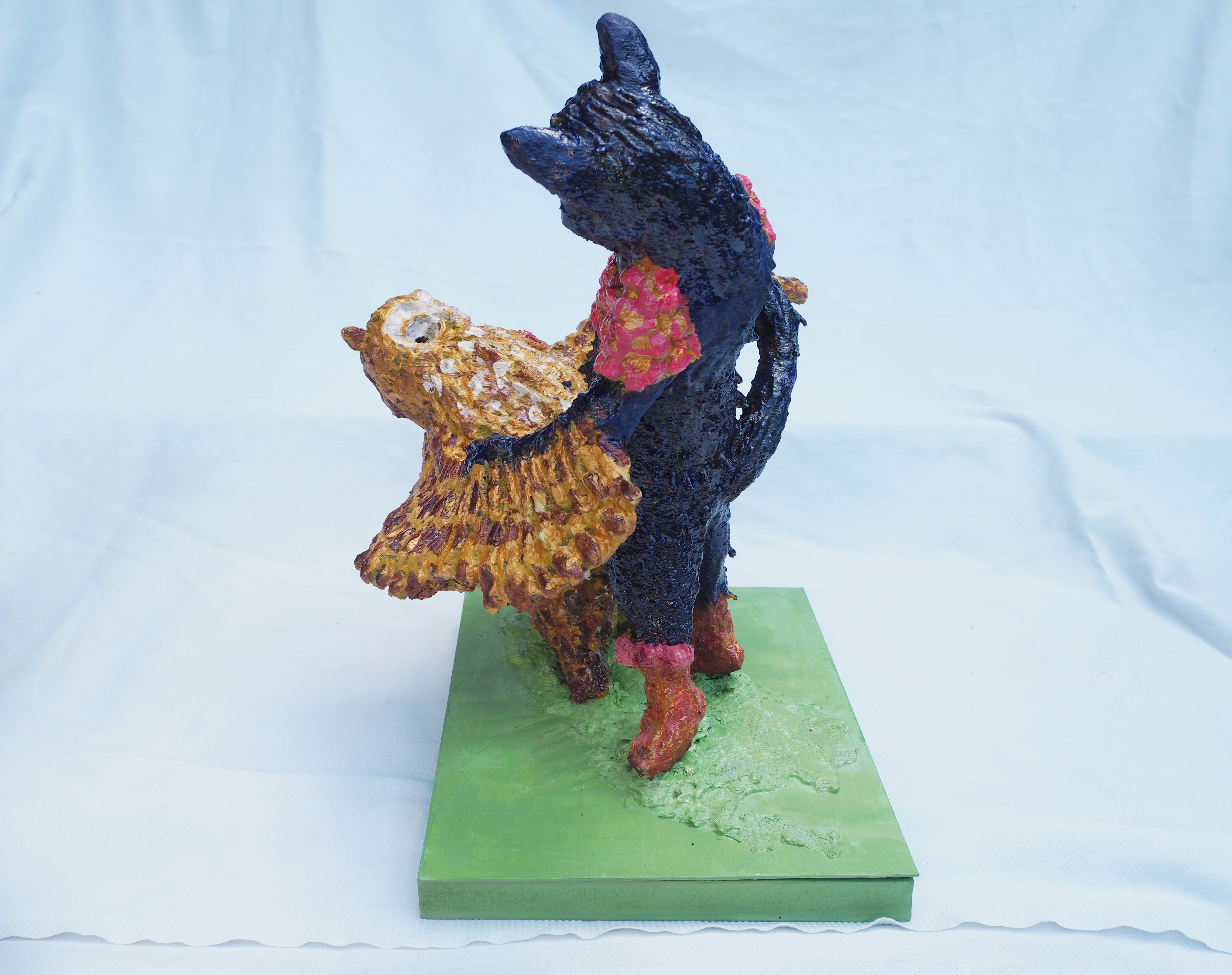 Lear inspired sculpture by Lydia Karpinska - Image 3 of 3