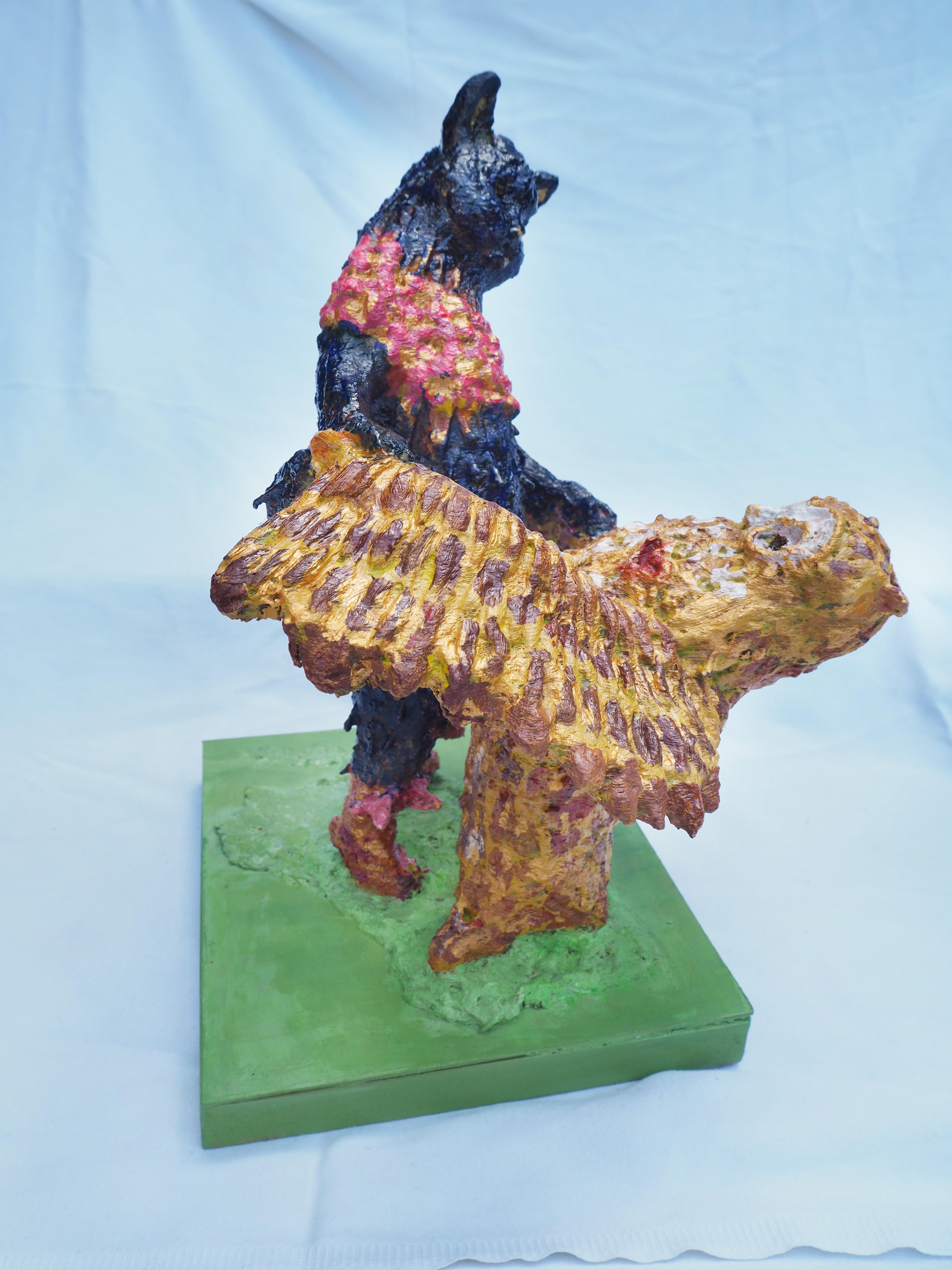 Lear inspired sculpture by Lydia Karpinska