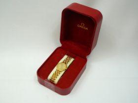 Ladies Gold Omega Wristwatch