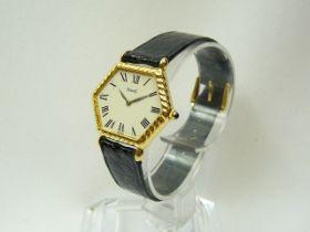 Ladies Gold Piaget Wristwatch