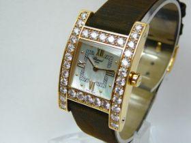 Ladies Gold Chopard Wristwatch