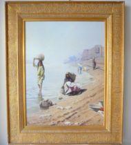 Franz Xaver Kosler. Framed oil on canvas