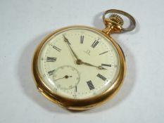 Gents Antique Gold Omega Pocketwatch