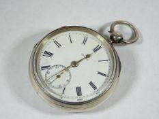 Gents Antique Silver Pocket Watch