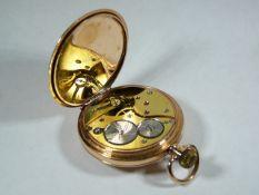 Gents Antique Gold Pocket Watch