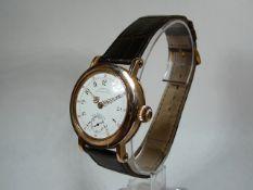 Gents Gold Patek Philippe Wrist Watch