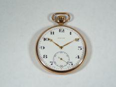 Gents Gold Zenith Pocket Watch