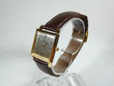 Ladies Vintage Gold Omega Wrist Watch