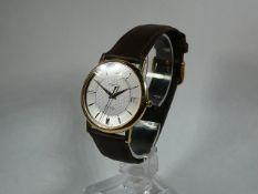 Gents Omega Gold Wrist Watch
