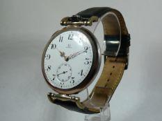 Gents Antique Omega Pocket Watch Conversion