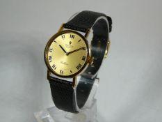 Ladies Gold Rolex Wrist Watch