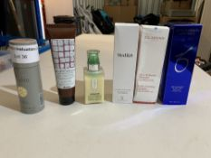 Zo skin health cleanser 200ml, Azzaro deodorant 150ml, Medik8 clarifying foam 150ml, Clarins